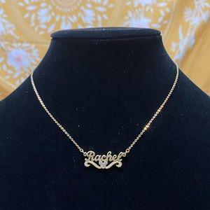 """Rachel"" Disney Necklace ❤️🌼"
